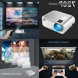 "Projector Mini W 4600 Lumen 220"" Display Video Projector.Hom"
