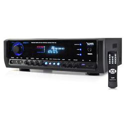 Pyle PT390BTU Digital Home Theater Stereo Receiver with Blue
