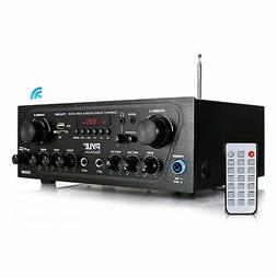 Pyle PTA24BT Bluetooth Home Audio 250 Watt 2 Channel Amplifi
