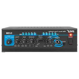 Pyle PTA4 Mini Bluetooth Home Audio 240 Watt 2 Channel Ampli
