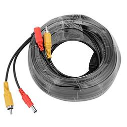 uxcell 20M/66ft RCA Audio Video Cable Male to Male Wire Exte