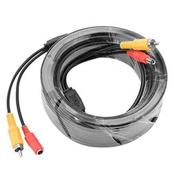 uxcell 15M/49ft RCA Audio Video Cable Male to Male Wire Exte