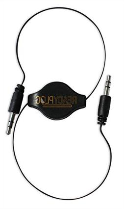 ReadyPlug Retractable 3.5mm Audio Cable for: SMS Audio STREE