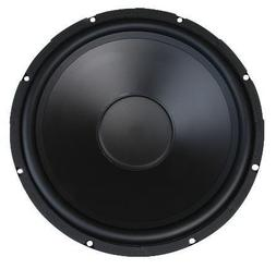 200W Rms 4 Ohm Rubber Surround Woofer Poly Cone 15 Inch Mcm
