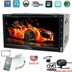"For Sony Lens Double 2 Din 7"" Car Stereo DVD CD MP3 Player H"