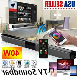 Sound Bar TV Soundbar Wired and Wireless Bluetooth Home Thea