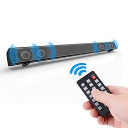Soundbar 4 x 10W for TV Wireless Speaker 3D Home Theater Sou