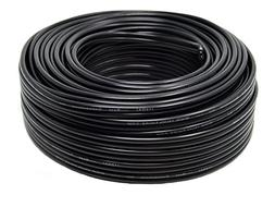 Speaker Wire 12 Gauge 100 Feet Black Stranded 2 Conductor St