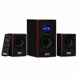 Stereo Bass System Home Audio Radio Shelf Sound Wireless Blu