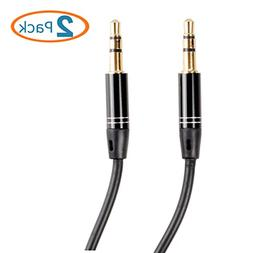 HTTX 4-Ft Stereo Male to Male 3.5mm Auxiliary Extension Cabl