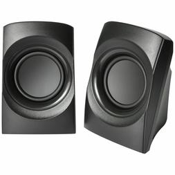 Onn Stereo Speakers with Integrated Volume Control