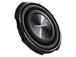 """PIONEER TS-SW2502S4 10"""" 1,200-Watt Shallow Subwoofer with Si"""