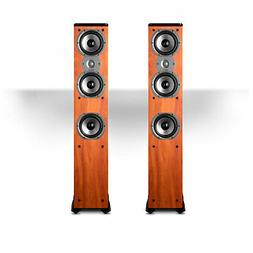 Polk Audio TSi400 4-Way Tower Speakers with Three 5-1/4 Driv