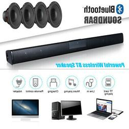 TV Home Theater Soundbar BT Stereo Speaker Subwoofer With Re