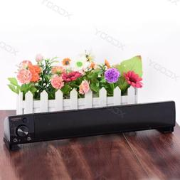 TV Soundbar 3.5mm Audio Soundbar USB TV Home Theater 3D Surr