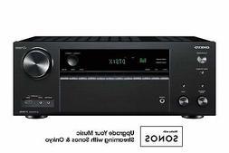 Onkyo TX-NR838 7.2 Channel Network A/V Receiver Plus A Pair