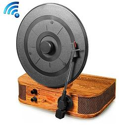 Upgraded Version Pyle Turntable Bluetooth, Dual Built-in Ste