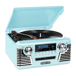 Victrola 50's Retro 3-Speed Bluetooth Turntable with Stereo,