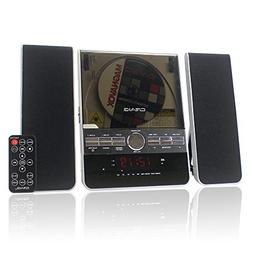 Craig Vertical CD Shelf System with AM/FM Stereo Radio and D