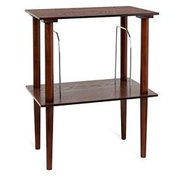 Victrola Wooden Stand for Wooden Music Centers with Record H