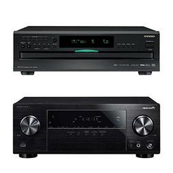 Pioneer VSX-532 5.1-Channel AV Receiver with Onkyo DXC-390 6