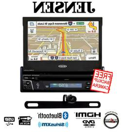 """Jensen VX7012 7"""" DVD Navigation Receiver w/ Built in Bluetoo"""
