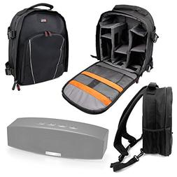 DURAGADGET Water-Resistant Backpack with Customizable Interi