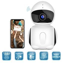 Wireless Security Camera, IKARE 1080P Indoor Home Camera for