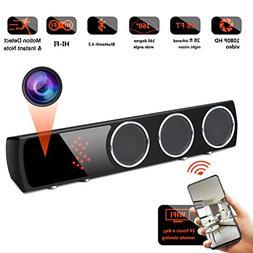 WiFi Spy Camera Bluetooth Speaker - Mini Spy Camera 1080p 16