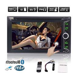 EinCar WIN8 Car Stereo CD DVD Player 6.2 Inch Double Din In