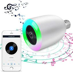 Mooncolour Wireles Bluetooth E27 Stereo Surround Sound LED L