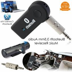 Wireless Bluetooth 3.5mm AUX Audio Stereo Music Home Car Rec