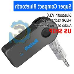 Wireless Bluetooth 3.5mm AUX Audio Stereo Music Home Car Iph