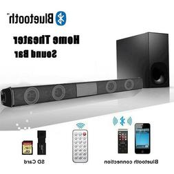 Wireless Bluetooth Soundbar Stereo Speaker Home Theater TV S