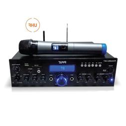 Wireless Microphone Power Amplifier System - 200W Dual Chann