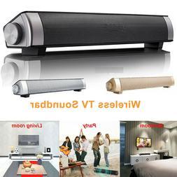 Wireless Sound Bar Stereo Speaker System Subwoofer Bass TV H