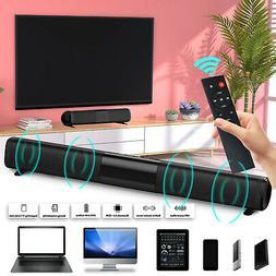 Wireless Sound Bar TV Soundbar Bluetooth Speaker Theater Sub