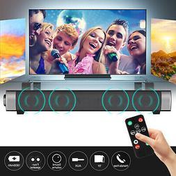 Wireless Sound Bar TV Soundbar Bluetooth Speaker Theater Hom