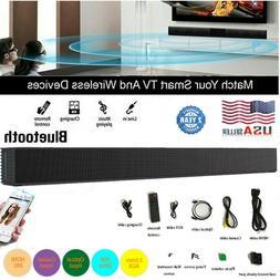 Wireless Sound Bar TV Soundbar Bluetooth Speaker Home Theate