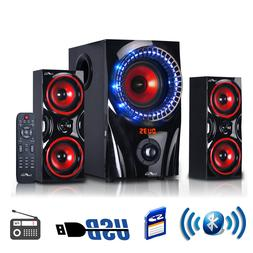 Wireless Sound System Bluetooth Portable Speaker Audio Bass