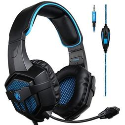 Sades Xbox One Stereo Gaming Headset Over-Ear Headphones wit