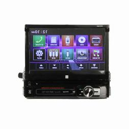 "Dual XDVD156BT 7"" Single-DIN In-Dash DVD Receiver Bluetooth"
